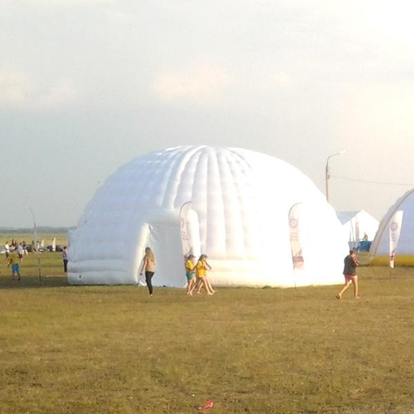 шатер на прокат, надувной купол