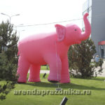 Надувной слон в аренду