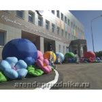 оформления шарами, надувные декроции