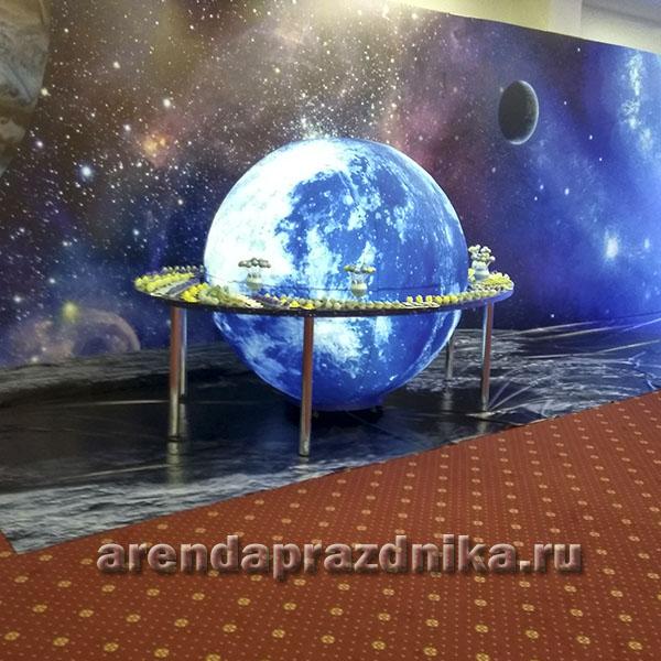 луна большая, луна на прокат, голубая луна, космос, планета, надувной глобус, нудувные шары