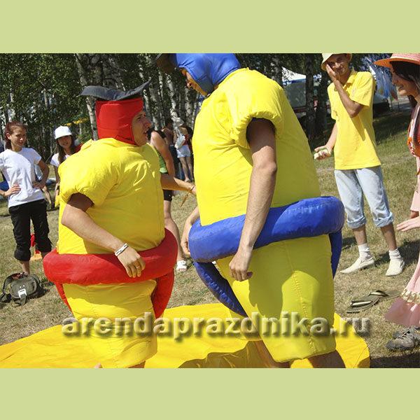 сумоисты, командные игры, игры, корпоратив, сумо