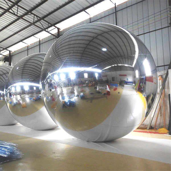 воздушный шар,зеркальный шар на прокат, серебреннаясфера в аренду